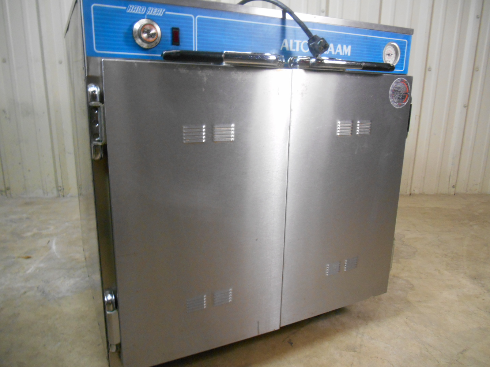AltoShaam Hot Food Holding Cabinet Used, Tested Good