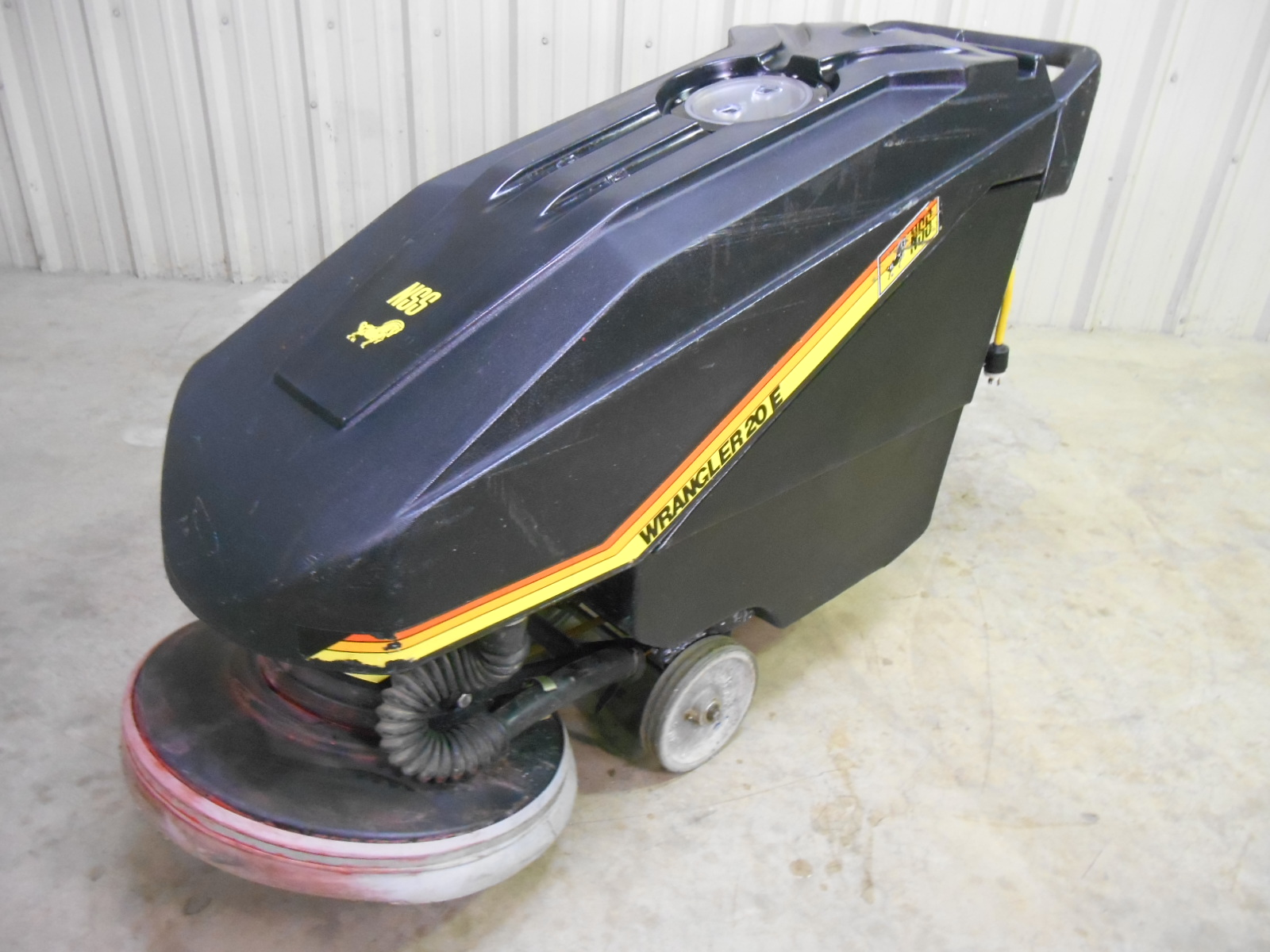 NSS Wrangler 20E Floor Scrubber Used, Tested Good