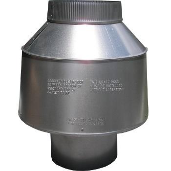 New Galvanized 10 Vertical Draft Diverter For Hot