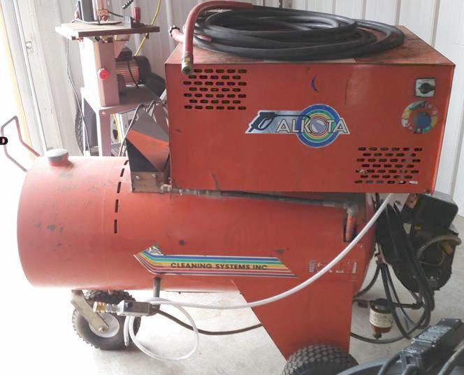 Used Alkota 5180 Hot Water 220 Volts Diesel 5gpm