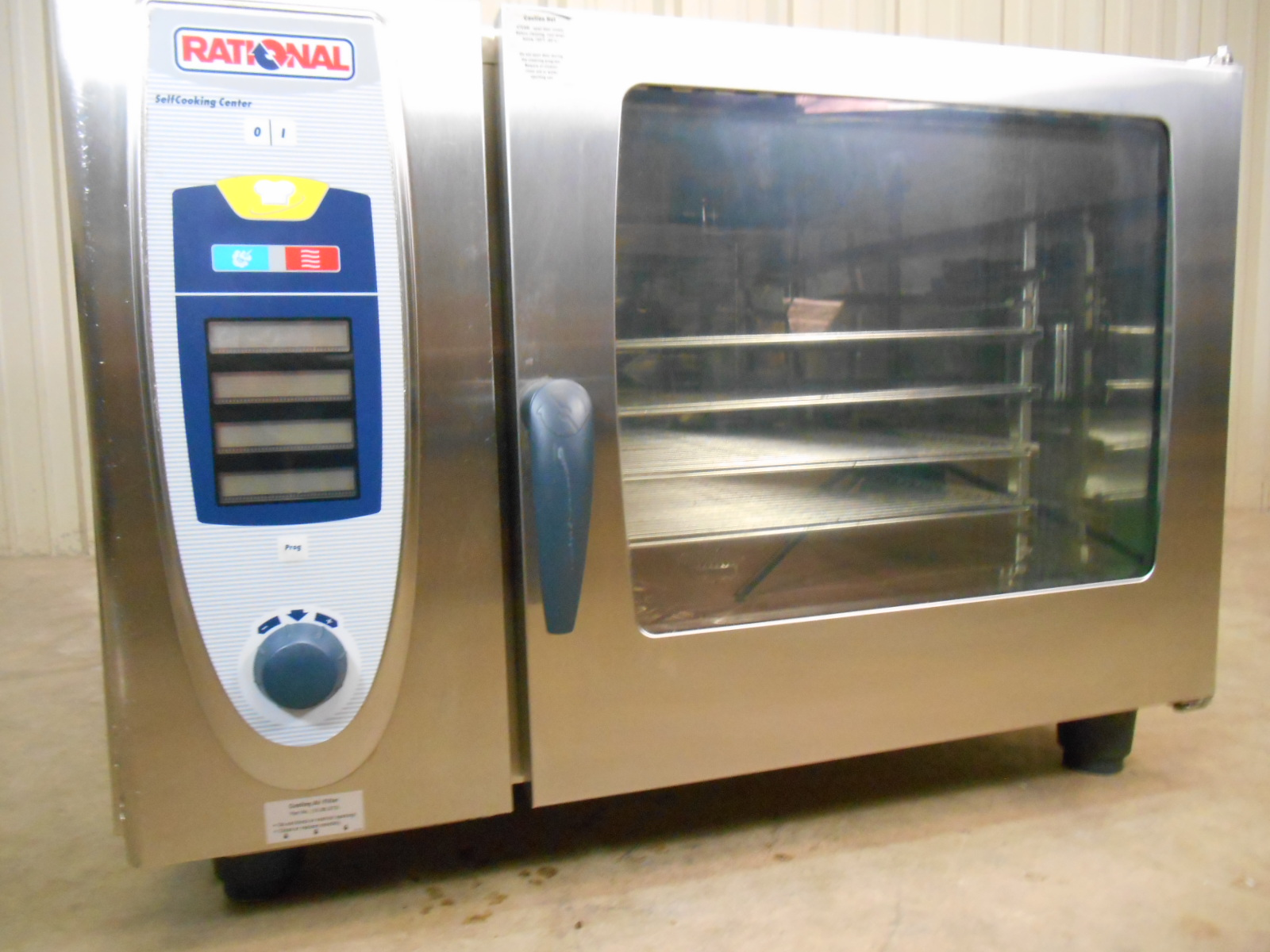 used rational scc 62 convection steam oven 3 phase 480 volt very clean. Black Bedroom Furniture Sets. Home Design Ideas