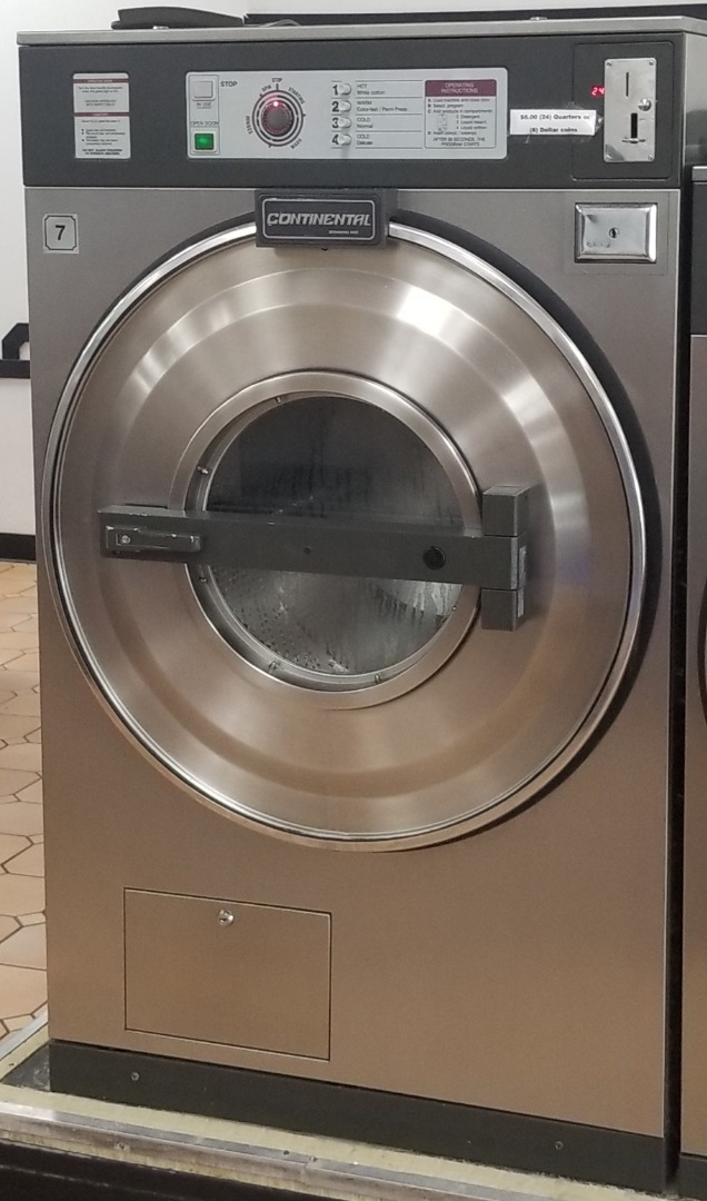 Used Continetal 40lb Coin Laundry Commercial Washer Extractor