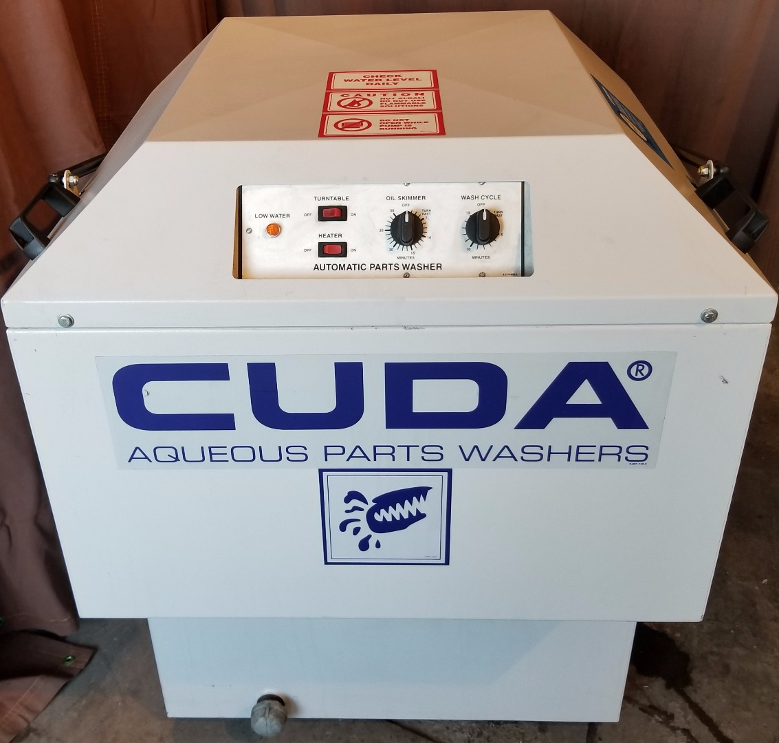 Cuda 2412 DEMO Top Load 24 Inch Automatic Parts Washer