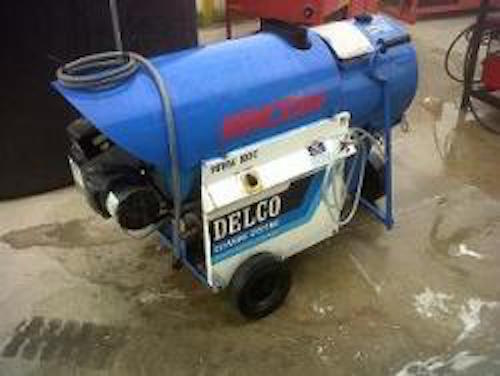 Used Delco Versa 100c Hot Water Diesel 2 7gpm 1000psi