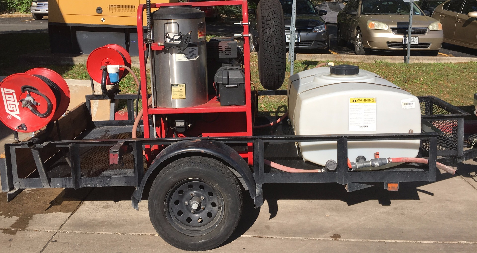 Used Hotsy 1260ss Hot Water Gas Diesel 4 3gpm 3000psi