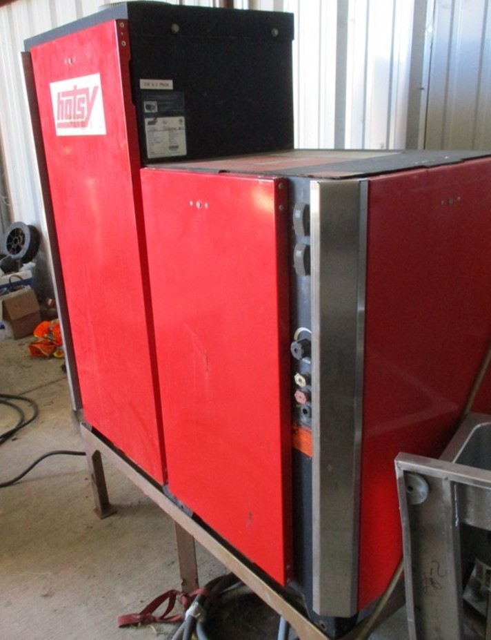 Used Hotsy 1455p 3ph Propane 4gpm 3000psi Hot Water