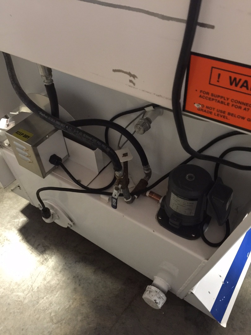 Used Hotsy 205 PitStop 115V Manual Aqueous Parts Washer W ...