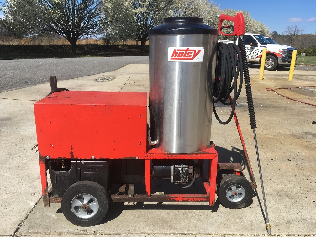 Used Hotsy 1410SS Electric 4GPM @ 3000PSI Hot Water Pressure Washer