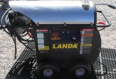 Used Landa Hot 1500 Hot Water 120volt Diesel 2gpm