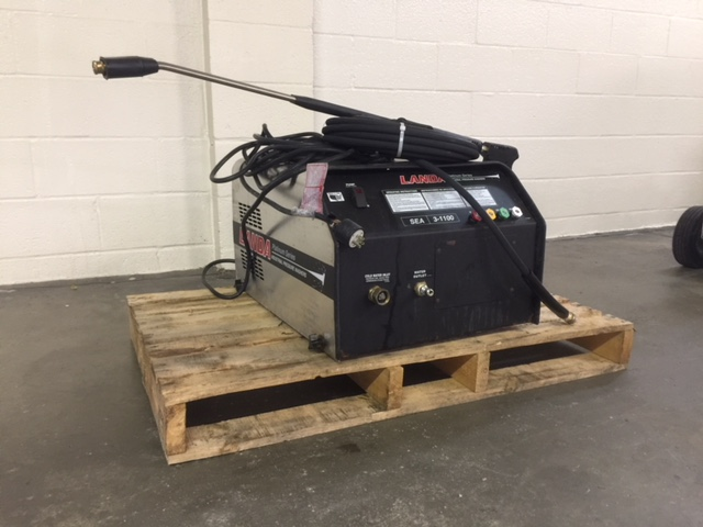 Used Landa Sea 3 Cold Water Electric 3gpm 1100psi