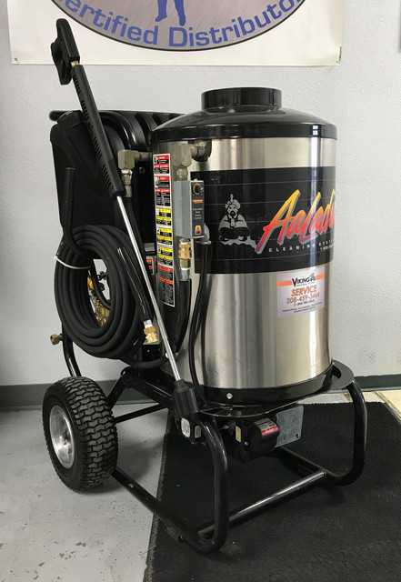 Premium Used Aaladin 14 216 Ss 2gpm 1600psi Hot Water