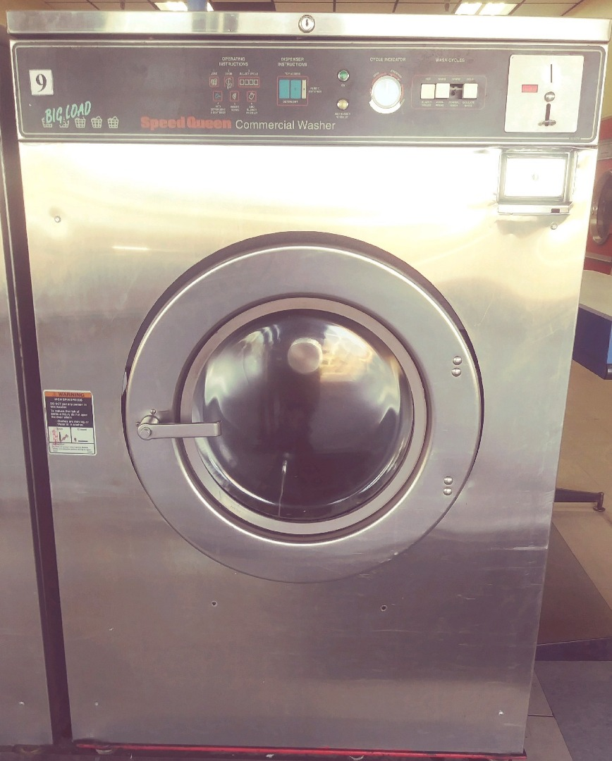 Used Speed Queen 50lb Coin Laundry Commercial Washer