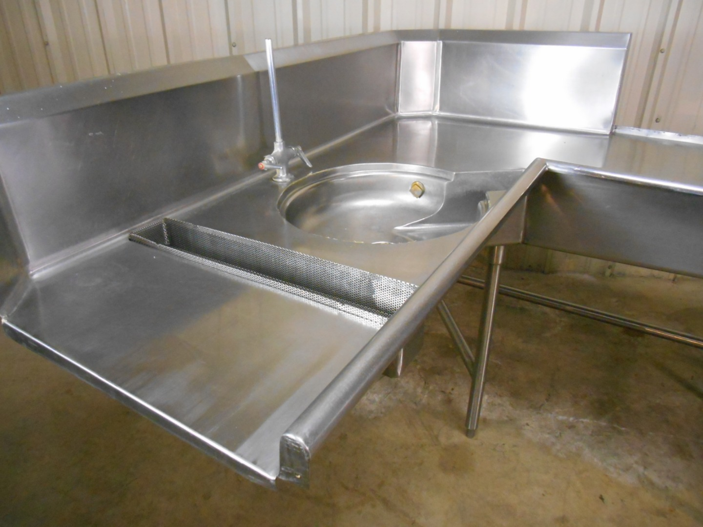 Texas Diesel Store >> Used Stainless Dishwashing Table W Sink