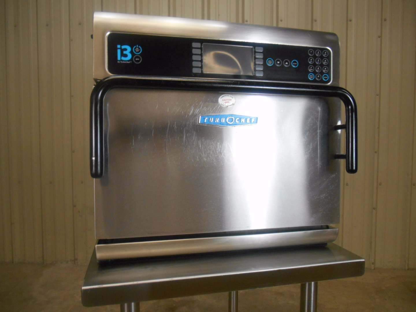 Used Turbochef I3 2011 Convection Microwave Rapid Cook Oven w/ Stand