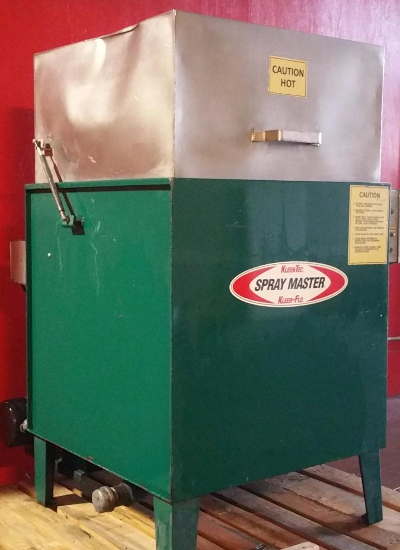 Used 24 Inch Kleentec Kt9200 220 Volt 30 Gallon Parts Washer