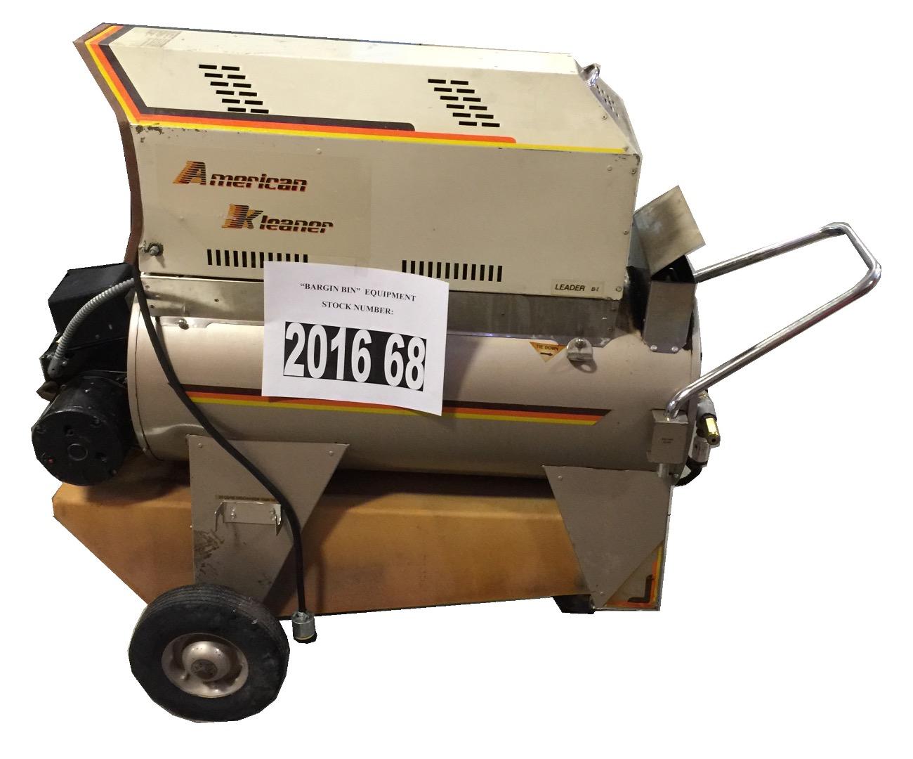 Used American Kleaner Leader B 1 Hot Water Diesel 2gpm