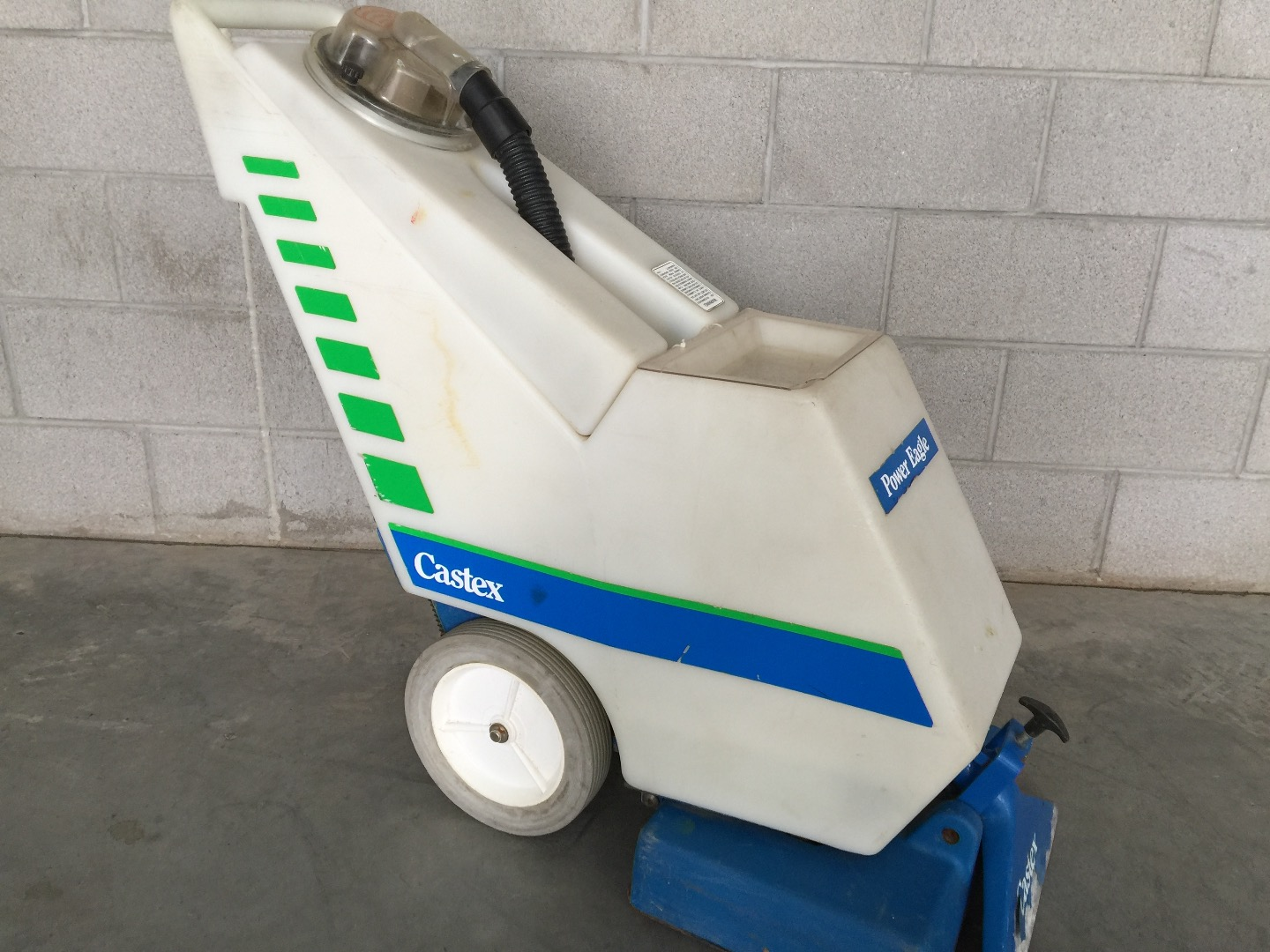 Used Castex Power Eagle 700 Carpet Cleaner Extractor