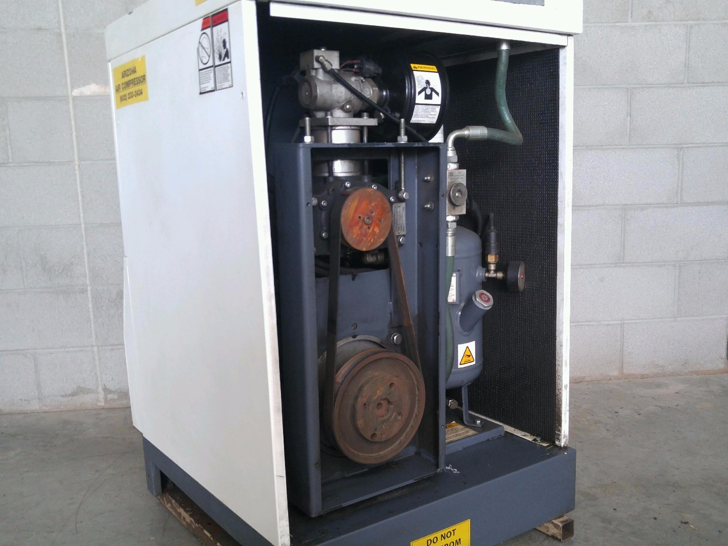 Used Curtis Toledo Ks 15a 15 Hp Tankless Rotary Screw Air