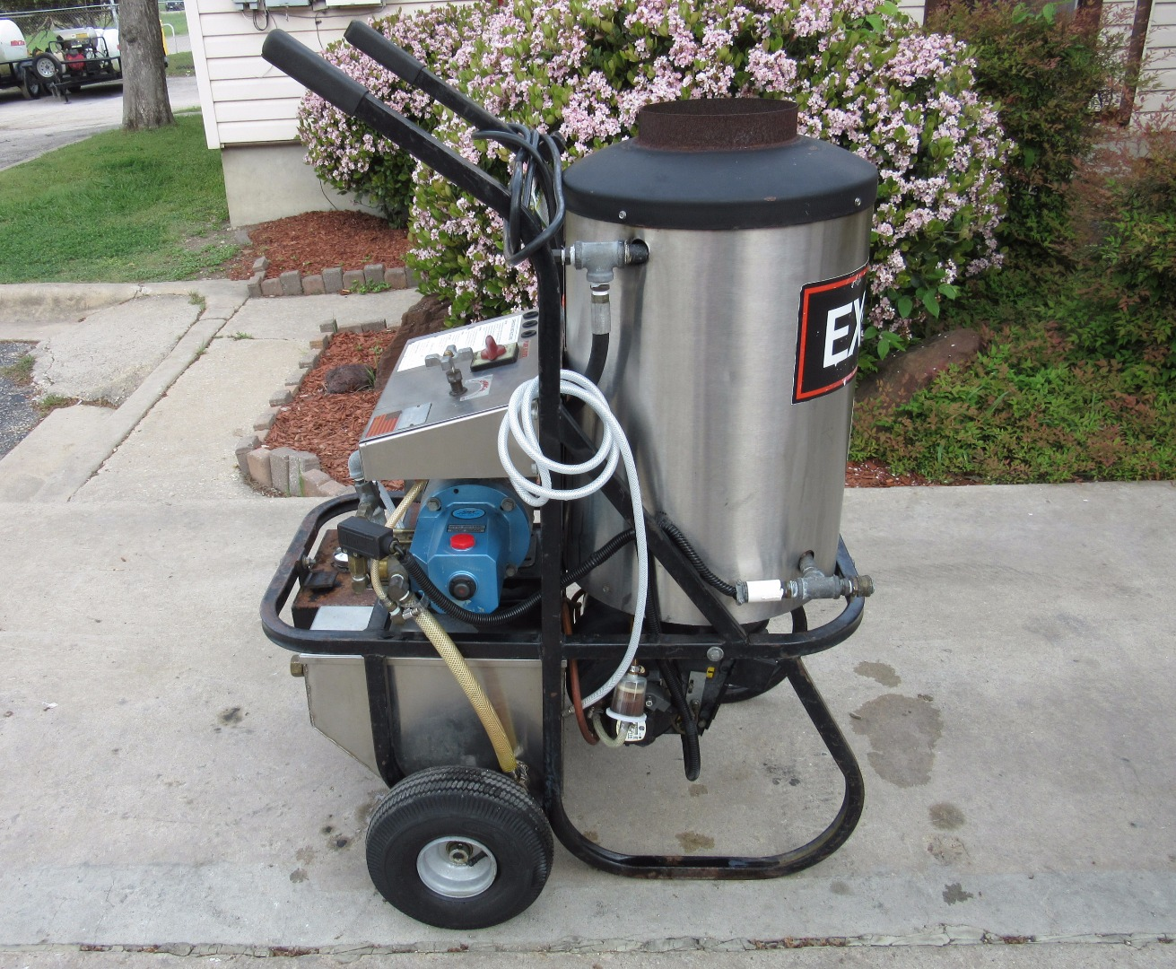Excell Hot Diesel Burner 1000PSI Pressure Washer Used, Tested Good.  Highslide JS. Highslide JS
