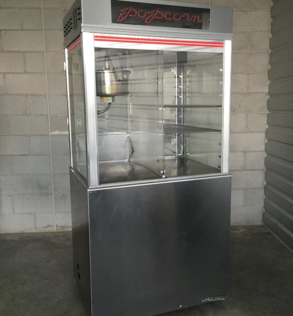 used gold medal popcorn machine used tested good - Gold Medal Popcorn