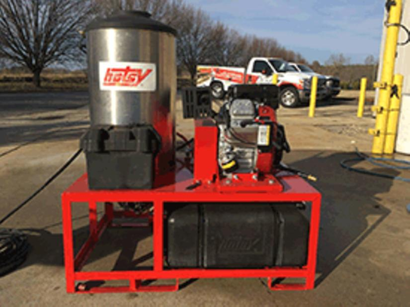 Used Hotsy 1260SS Hot Water Gas /Diesel 4 3GPM @ 3000PSI Pressure Washer