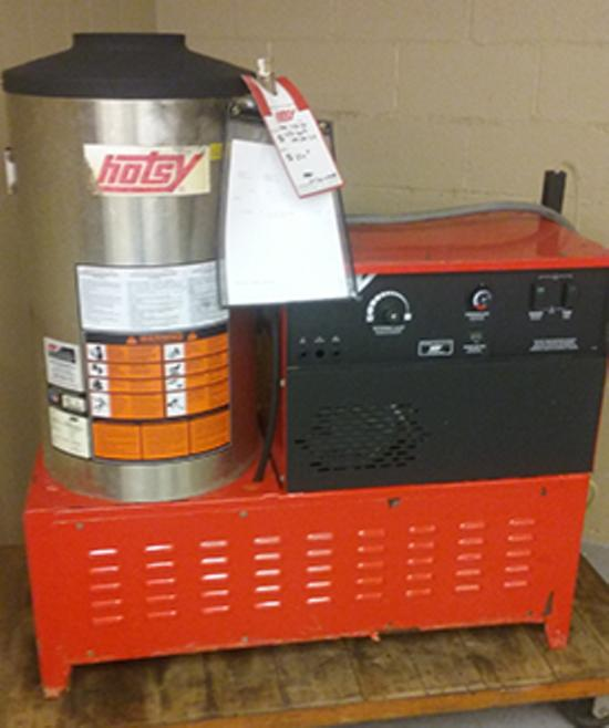 Used Hotsy 1425ss Hot Water Natural Gas 3 9gpm 3000psi