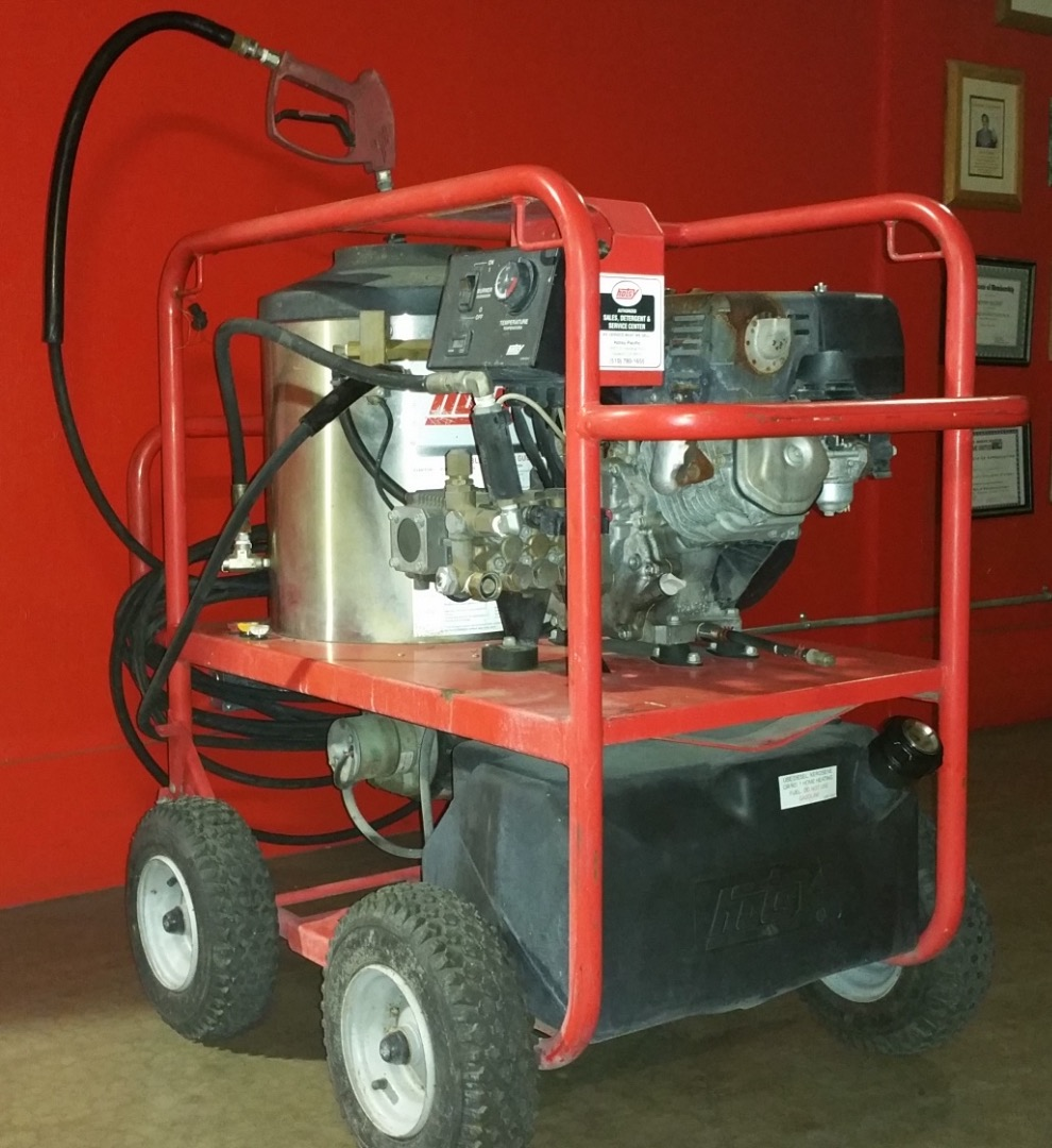 used hotsy 871ss hot water gas diesel 2 7gpm 2400psi pressure washer 1459969905438 used hotsy 871ss hot water gas diesel 2 7gpm @ 2400psi pressure Hotsy Pressure Washer Parts Diagram at creativeand.co