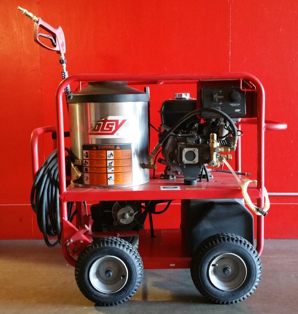Used Hotsy 965ss Hot Water Gas Diesel 3gpm 3000psi