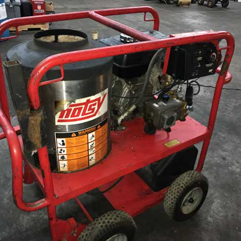 Used Hotsy 965ss Hot Water Gas Diesel 3gpm 3000psi Pressure Washer