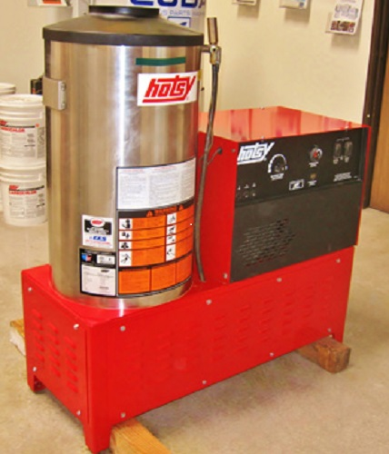Used Hotsy 992ss 208 Hot Water Natural Gas 3 9gpm