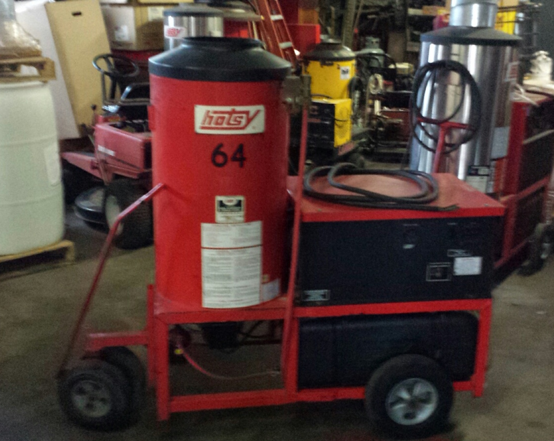 Used Hotsy 993a Hot Electric Diesel 4gpm 2000psi
