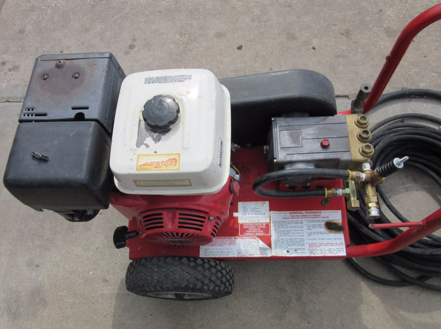 used hotsy shark 445 cold water 11hp gas 4gpm 2500psi pressure washer 1430695894480 used hotsy shark 445 cold water gas 4gpm @ 2500psi pressure washer hotsy pressure washer wiring diagram at readyjetset.co