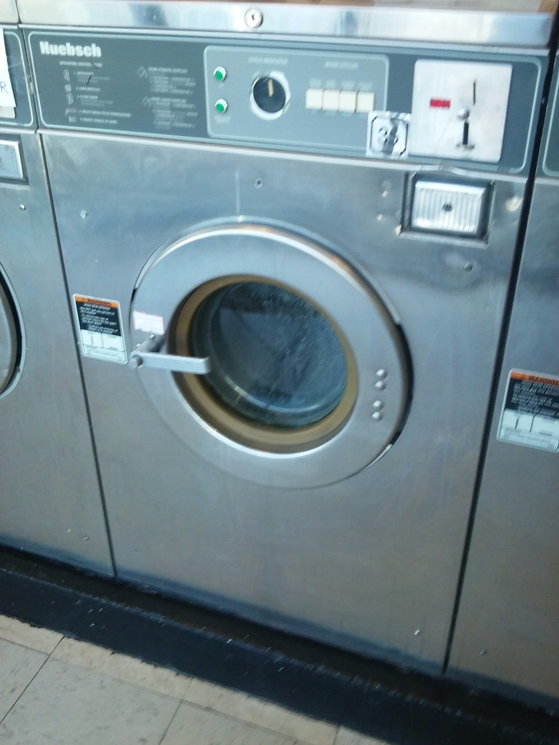 Commercial Washer Extractor ~ Used huebsch hc md pound stainless commercial washer
