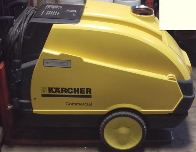 Used Karcher Hds 3530 Hot Water 1ph Diesel 3 5gpm