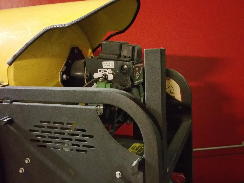 Used Landa Mhp4 Hot Water Diesel 3 8gpm 3500psi Pressure