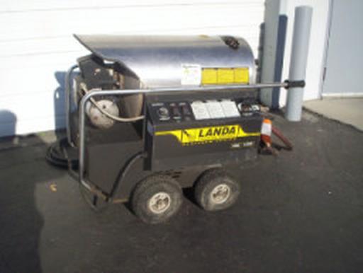 Used Landa Phws4 30021c Hot Water Diesel 4gpm 3000psi