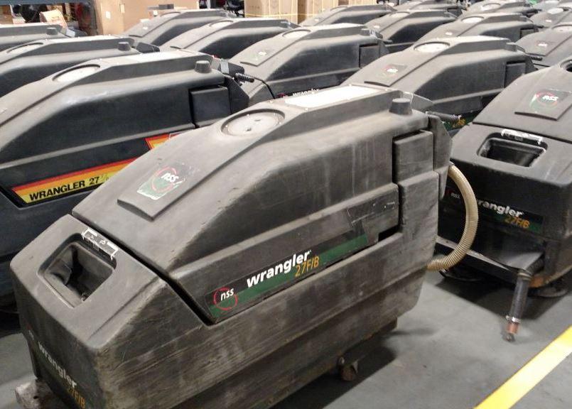 Scrubbers Used Auto Scrubbers