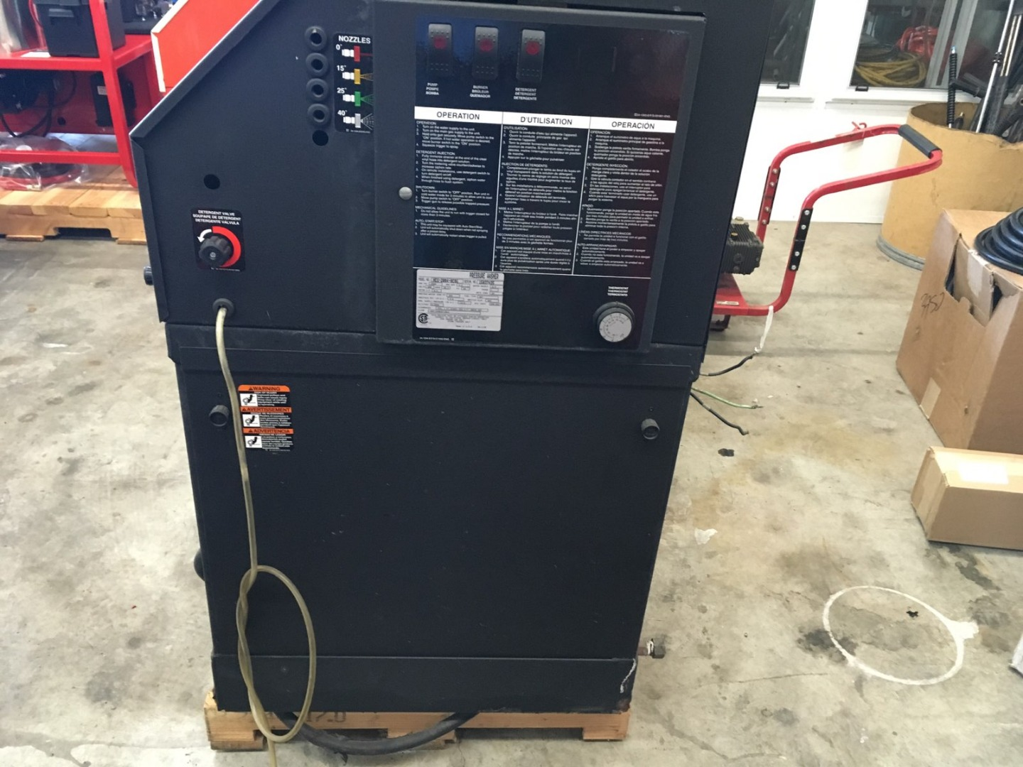 Used Mi T M Hot Water Heg 2004 0ebg Natural Gas 4gpm