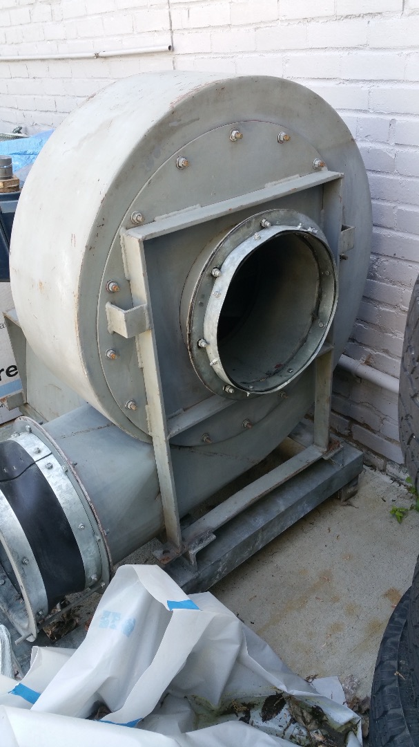 Types Of Industrial Blowers : Used scott t type industrial blower w leeson hp motor