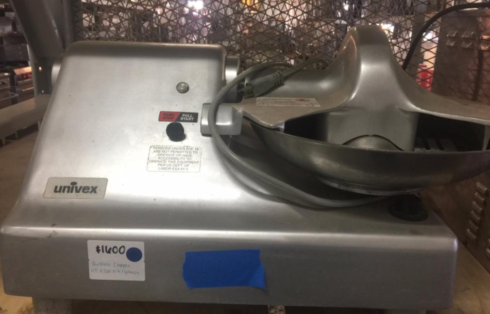 Used Univex Bc14 Bowl Cutter Buffalo Chopper 14 Quot Bowl