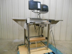 Hobart Meat Scale, Wrapping Station, & Printer Used, Tested Good