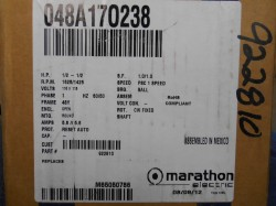 Marathon Electric 1/2hp 115v Motor New in Box