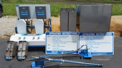 2 Bay Delco Complete Car Wash Equipment / Single Phase Never Used, Tested Good