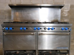 Montague 600-10-SB34 10 Burner Double Stove Used, Not Tested