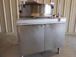 Cleveland Direct Steam 40 Gal Auto Tilt Kettle Used, Tested Good