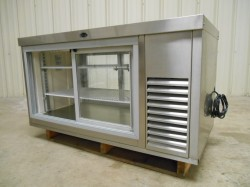 Randell Refrigerated Countertop Display Case Used, Tested Good