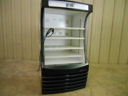 Beverage Air Open Air Refrigerated Merchandiser Used, Tested Good