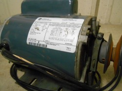 General Electric 3/4 HP Motor Used, Not Tested