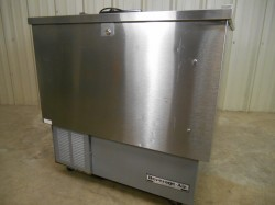 Stainless Beverage Air 34 Inch Bottle Cooler Used, Tested Good