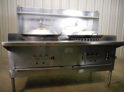 Montague Legend Chinese Wok Oven Used, Not Tested